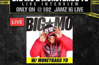 Big Mo Moneybagg Yo IG Interview