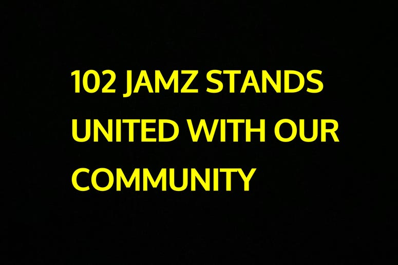 102 JAMZ Stands United With Our Community
