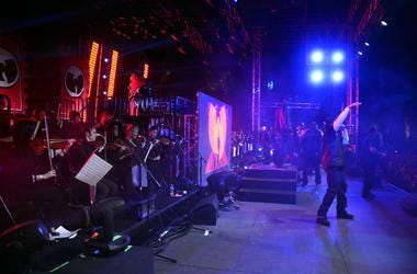 Wu-Tang Clan performs onstage during day 3 of the 2013 Coachella Valley Music & Arts Festival at the Empire Polo Club on April 14, 2013 in Indio, California