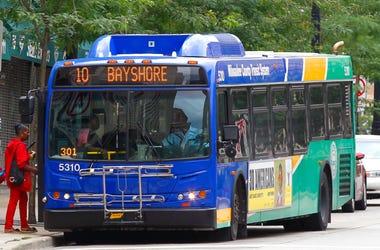 Milwaukee County Transit System Bus