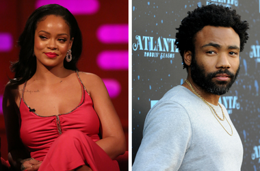 Rihanna and Donald Glover