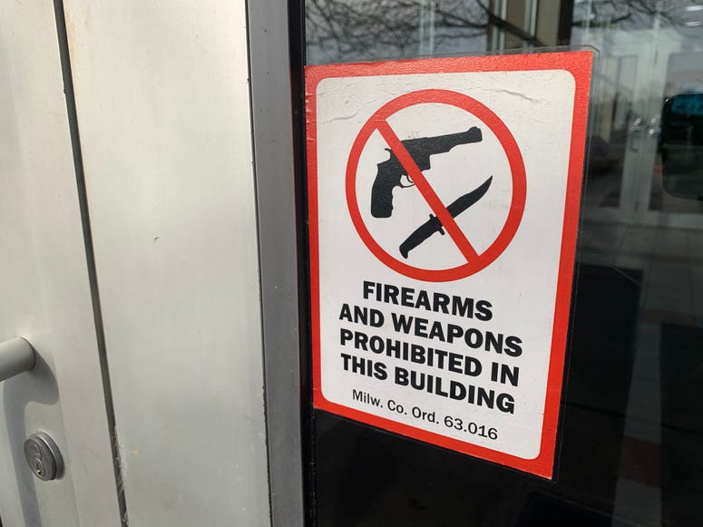 no guns in here, unless you have guns.