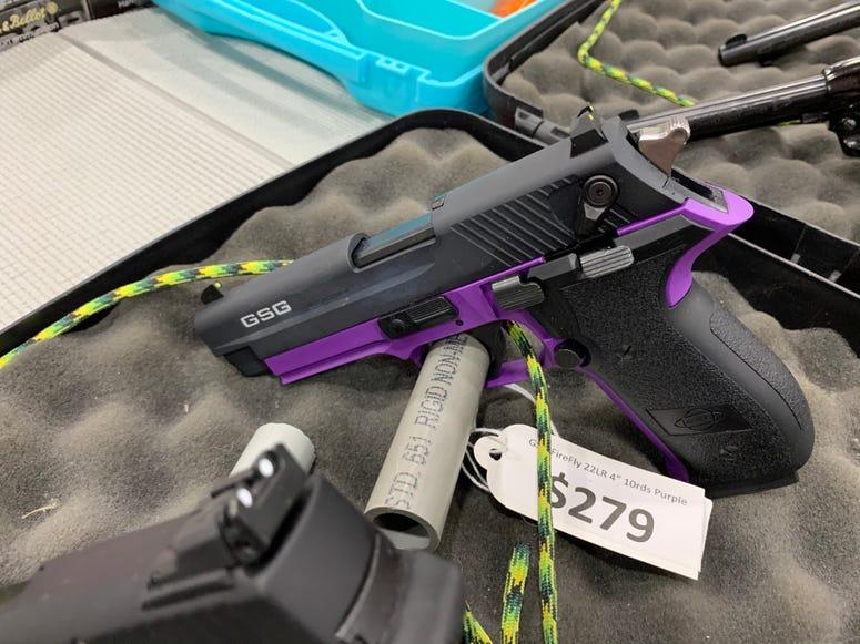 purple gun
