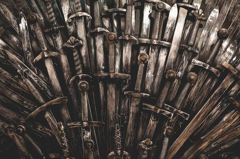 Game of Thrones' Iron Throne