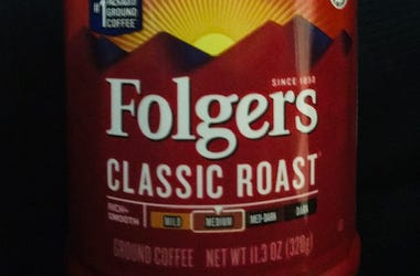 Folgers is the best air freshener