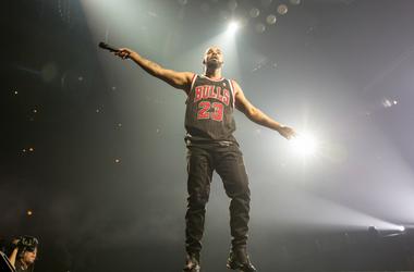 Drake (Aubrey Drake Graham) during the Summer Sixteen tour