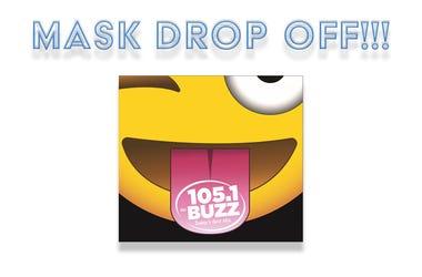 105.1 The Buzz, KRSK-FM, cornavirus, mask