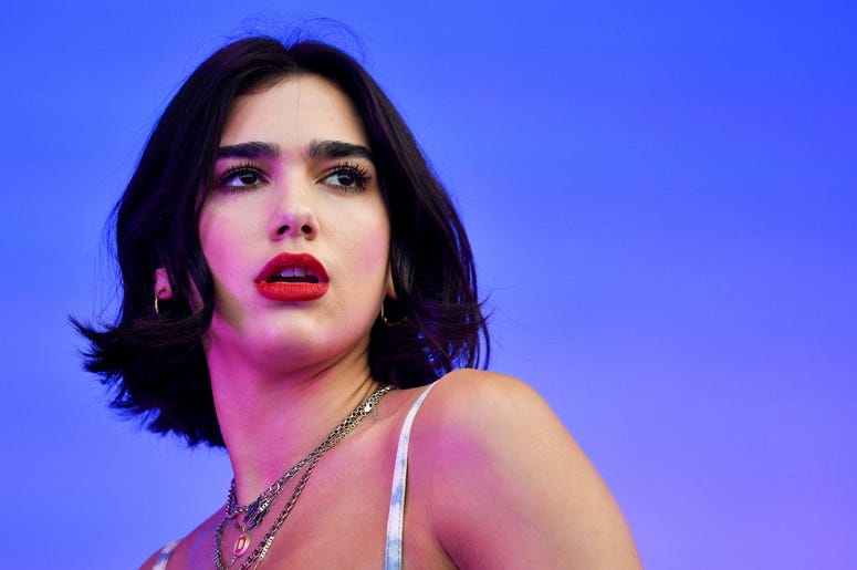 Dua Lipa performs at the Bonnaroo Music and Arts Festival