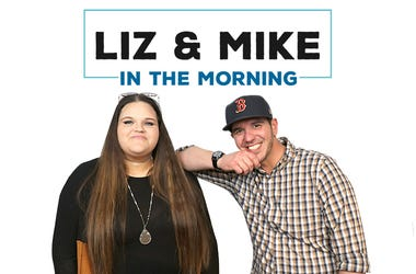 Liz and Mike in the morning