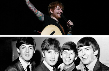 Ed Sheeran and The Beatles