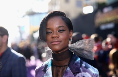Actor Letitia Wright attends the Los Angeles Global Premiere for Marvel Studios Avengers: Infinity War on April 23, 2018 in Hollywood, California