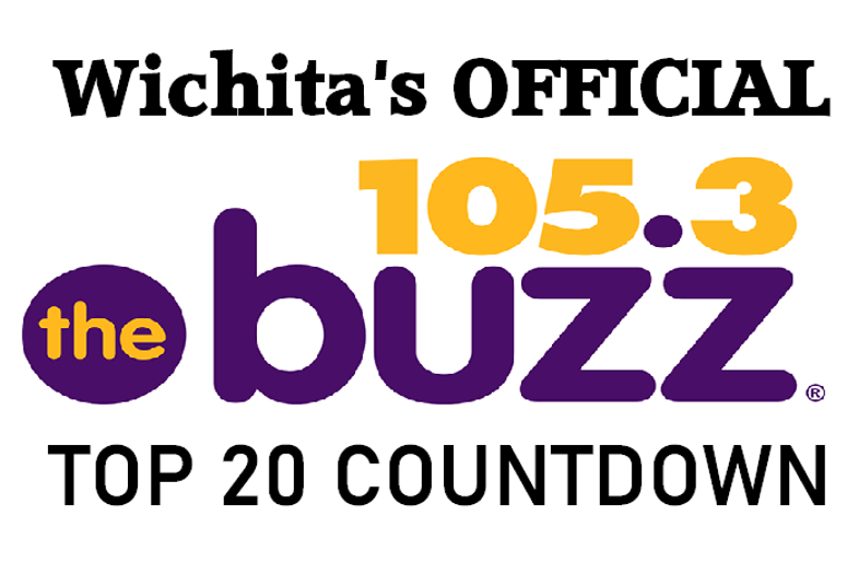 Top 20 Countdown, Wichita, 105.3 The Buzz