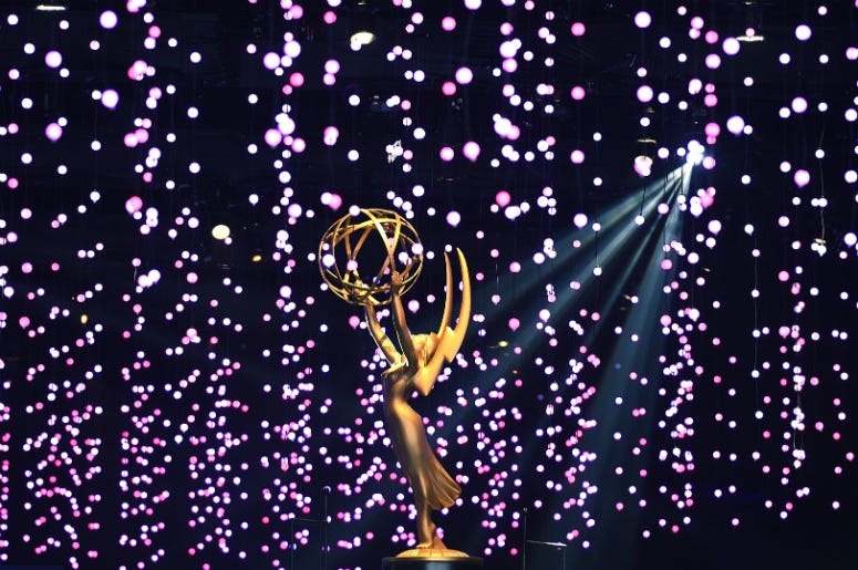 Scenes from the 70th Emmy Awards Governors Ball and 2018 Creative Arts Governors Ball press preview at L.A. Live Event Deck on September 6, 2018 in Los Angeles, California.