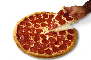You could win a Papa John's pizza!