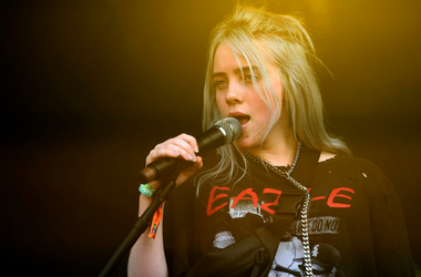Billie Eilish performs during the Bonnaroo Music and Arts Festival
