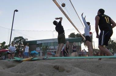 coliseum bar madison volleyball