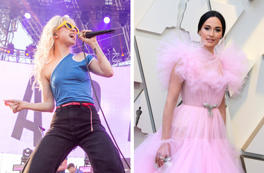 Hayley Williams and Kacey Musgraves