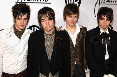 Panic! At The Disco attends the Warner Bros. Records & Atlantic Records VMA after party at Buddakan August 31, 2006 in New York City
