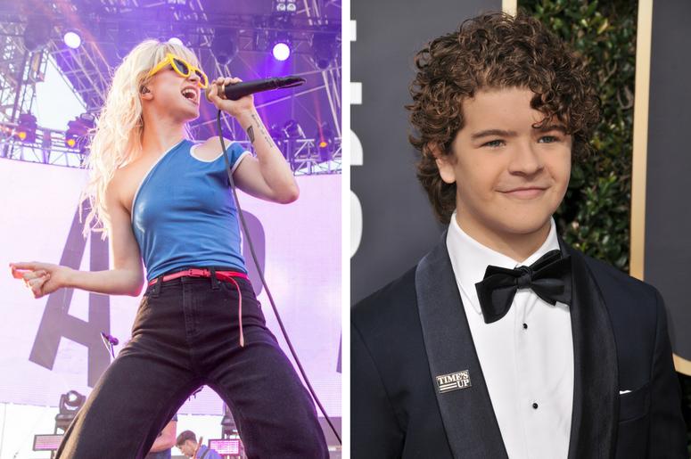 Paramore's Hayley Willams and Stranger Things' Gaten Matarazzo