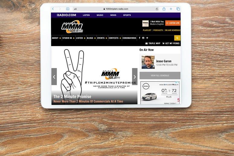 iPad WMMM