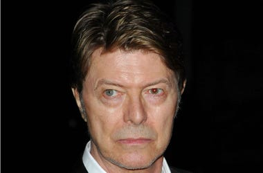 David Bowie at the 7th Annual Tribeca Film Festival, Vanity Fair Party held at State Supreme Courthouse
