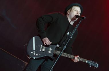Patrick Stump of Fall Out Boy