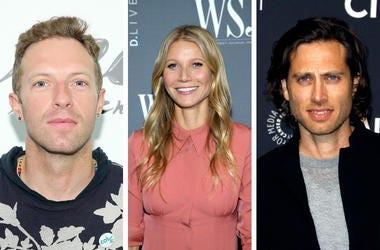 Chris Martin, Gwyneth Paltrow, Brad Falchuk