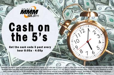 WMMM Cash on the 5s