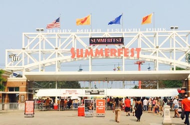 Summerfest entrance