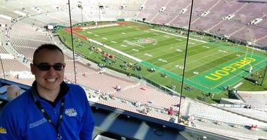 Radio Joe at the Rose Bowl!