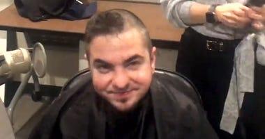 Horvat gets shaved
