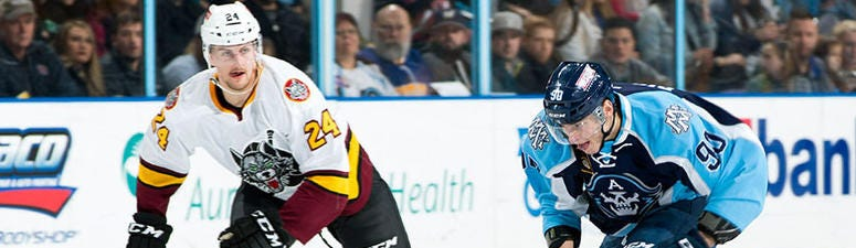 Admirals Top Wolves in Shootout