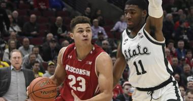 Badgers fall 67-55 to MSU in B1G Tourney Semifinal