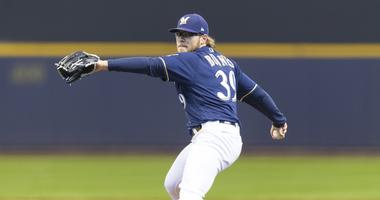 Brewers option Burnes, Petricka to Triple-A