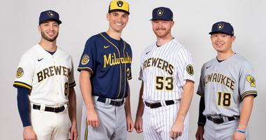 Brewers unveil new look