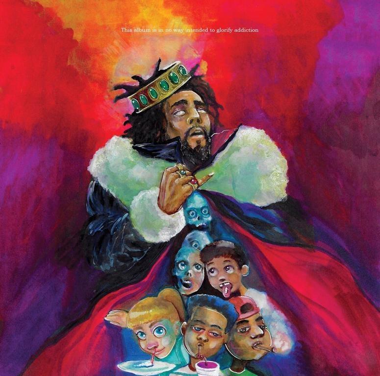 J. Cole's KOD Album Artwork