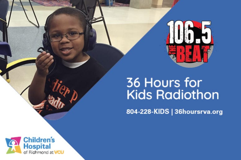36 Hours for Kids Radiothon
