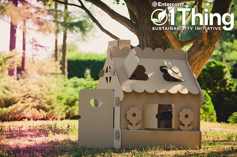 Cardboard Playhouse 1Thing