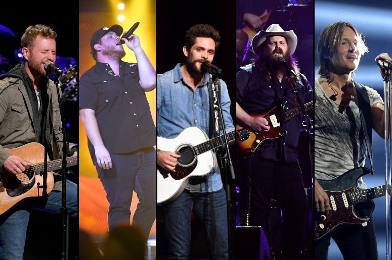 ACM Awards:Male Artist Of The Year