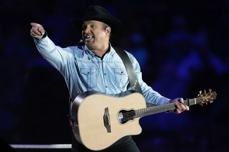 Garth Brooks performs at Notre Dame stadium for historic first-ever concert