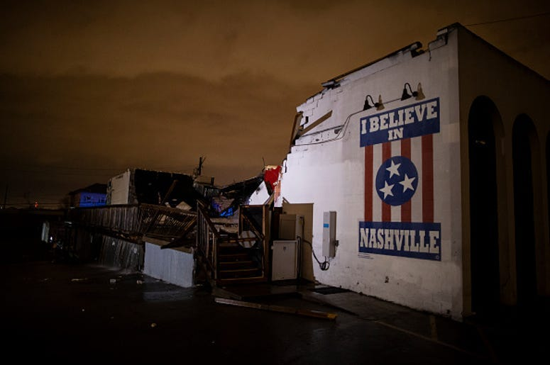 Nashville tornado Devastation: How you can help
