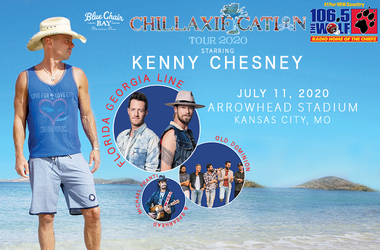 Kenny Chesney, 106.5 The Wolf Arrowhead Stadium