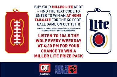 Win an At-Home Tailgate Package