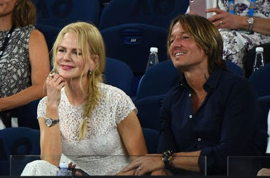 Nicole Kidman and Keith Urban attend the Women's Day Ceremony during day 11 of the 2019 Australian Open at Melbourne Park on January 24, 2019 in Melbourne, Australia