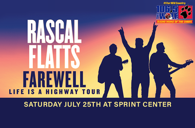 Win Tickets to Rascal Flatts, 106.5 The Wolf, Contest
