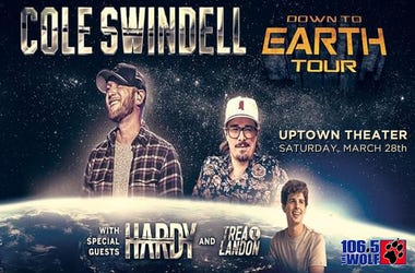 Cole Swindell Down to earth tour