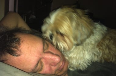 Braxton waking me up