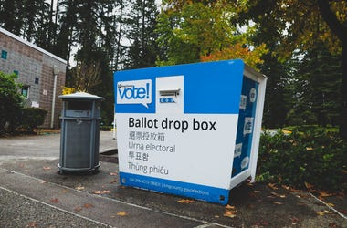King County Ballot Box