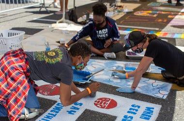 West Seattle Black Lives Matter mural