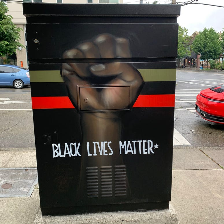 Black Lives Matter West Seattle